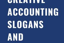 Creative Accounting Slogans and Taglines