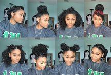 Hair styles for curly hair / Nice decent hair styles for curly hair