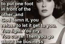 The Love Quotes Celebrity Quotes : Liz Taylor, showing her even greater worth than as an Actress….