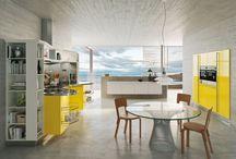 Cucine moderne gialle