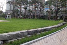 경관옹벽블록. 이노블록 / 보강토 옹벽