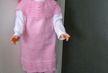 My dolls / Here are my own dolls and doll clothes.