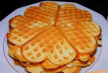 Palacinky,wafle,lievance