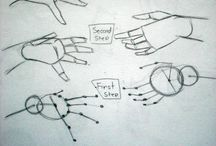 Drawing HANDS / Tutorial, tips
