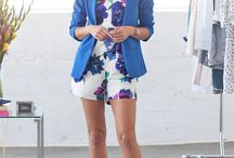 Outfits in Blue