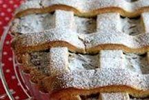 Crostate, crostatine, tartellette / by patrizia longo