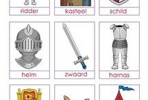 Groep 1/2 thema ridders en kastelen