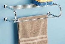 bathroom towel rails / by Kerstin Scharlach