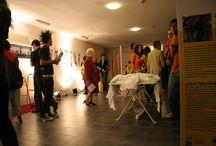 Roma Design + / Realizzazione spazio performance art and food della fiera Design+ di Roma 2007/2011