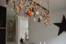 Fairy light chandelier