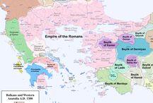 map cartografia bizantyne