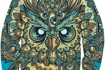 Sexy Sweatshirts / RageOn has unleashed a TON of high-quality, vibrant, all-over print sweaters!