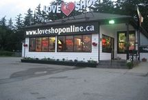 LoveShop Locations / Our LoveShop retail stores