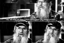 Gotta love uncle Si! / by Heather Labat