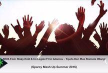 New promo song... ARVA Vs Αδάμου Ήβη - Tίποτα Δε Μας Σταματά #Bang! ft. Risky Kidd & Iro Legaki (Sparcy Mash Up 2016)