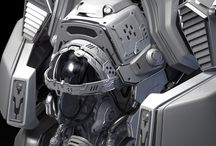 Hard Surface Inspiration