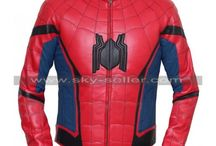 Spider-Man Homecoming Peter Parker Costume Jacket / Buy this Newly Spider-Man Homecoming Tom Holland Leather Jacket at most discounted price from Sky-Seller with free shipping.