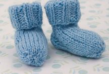 Knitting - bootees