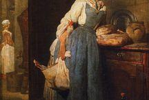 Rococo ~ Jean-Baptiste-Siméon Chardin
