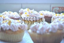 Desserts / Goal: to enjoy more desserts in my lifetime.