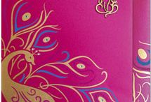 Designer Wedding Cards / Exclusive Designer Indian Wedding Cards with full stock and choices.