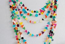 First Birthday Party Idea for Henry - Geometic Shapes Party / by Eliza Larson | Eliza Domestica