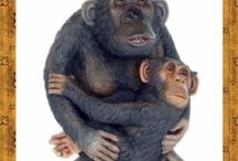 life size monkeys, gorillas and apes statues