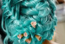 Characters - Turquoise-colored Hair