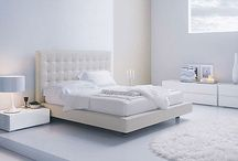 AWF | Delight in White / There is simplicity and a crisp, clean feeling to an all white room.  austinwindowfashions.com