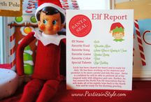 Willard & Claude elf ideas / Willard named for my brother, .  Claude named for my grand father.  They really help keep the kids on their best behavior  / by Marilyn Breshears Shober