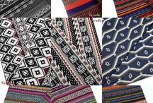 Thai Woven Fabric / Our Thai Woven Fabric is made from 100% Cotton and/or Polyester with an unique hill tribe design, it's high quality and sturdy that perfect for home decor, bag, accessories and other crafts.