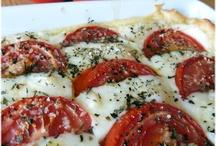 Tarte tomates & mozarella
