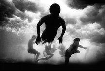 black and white photography / Trent Parke, Olive Cotton, Max Dupain, David Moore...