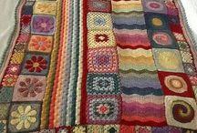 Вязание пледы