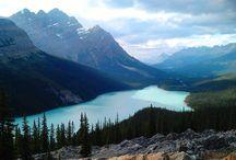 Canadian Lakes / Beautiful lakes, Canadian lakes, Canada lakes