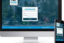FCMQ - Patrouilleurs - INTRANET / Voici notre 2e réalisation de 2017! Nous sommes en feu!! Voici la refonte l'intranet des patrouilleurs de la Fédération des clubs de motoneigistes du Québec - FCMQ