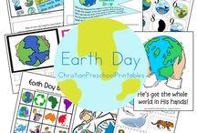 Earthday - homeschool