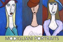 A la manière de Modigliani