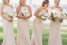 bridesmaids dress'