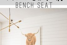 Dinning room bench