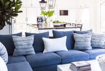 interiors: blue
