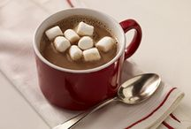 Hot Cocoa, Hot Chocolate, Hot drinks! / Stay warm and cozy with a hot drink in hand and a load of marshmallows on top (of the drink that is haha). / by JET-PUFFED Marshmallows