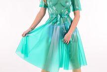 Sukienki PVC - Latex