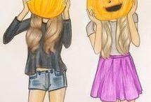 halloween - i rajzok