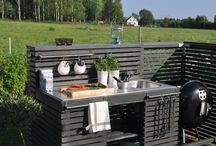 Pihakeittiö / Outdoor kitchen