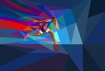 Esporte  - arte digital