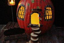 pumkin fairy house 1