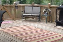 Deck & outdoor living space / A beautiful deck with an out door kitchen & living space.