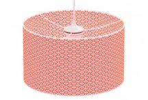 Lámparas / Lamparas de colores para sobremesa o colgantes.  Habitación infantil
