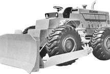 Clark-Michigan dozers / Machinery
